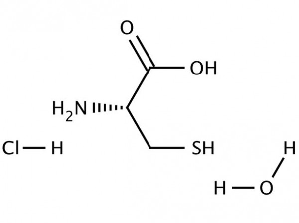 L-Cysteine hydrochloride - chemical structure
