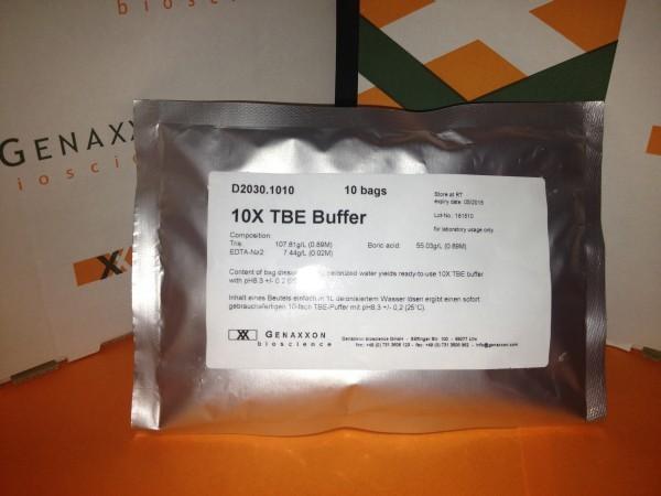 10-fach Tris-Borat-EDTA Puffer (pH 8,3) - 10 bags