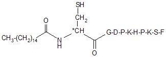 Lipopeptide PamCGDPKHPKSF
