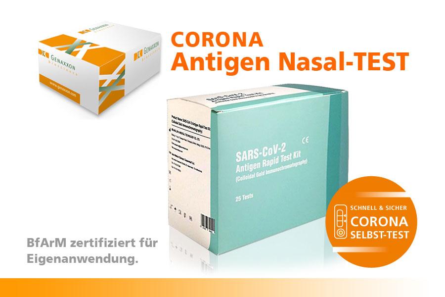 SARS-CoV-2 Antigen rapid test kit CE/IVD