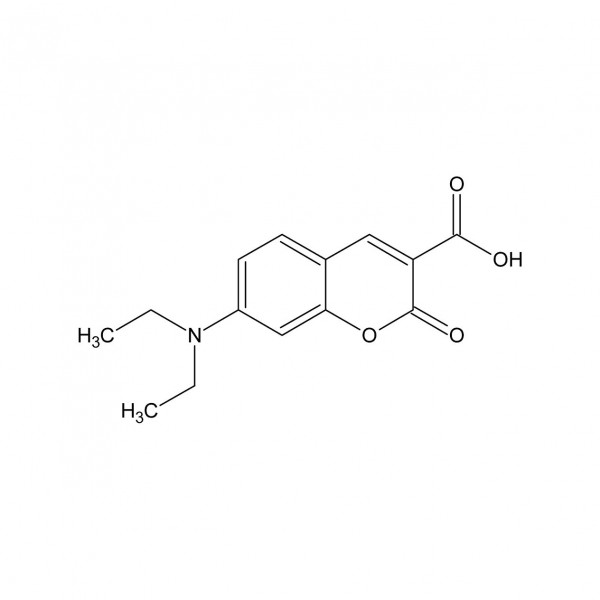 7-Diethylaminocoumarin-3-carboxylsäure