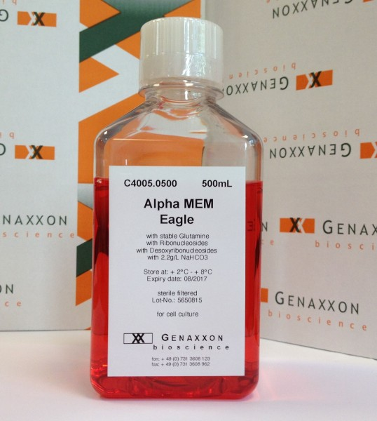 Alpha MEM Eagle with Nucleosides, with stable Gluamine - 500 mL