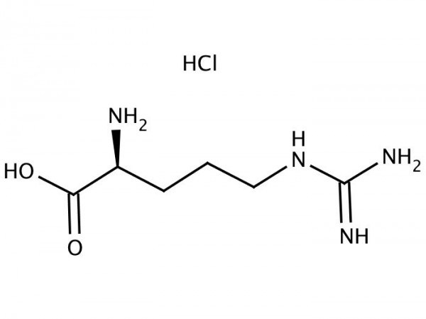 Arginine hydrochloride chemical structure