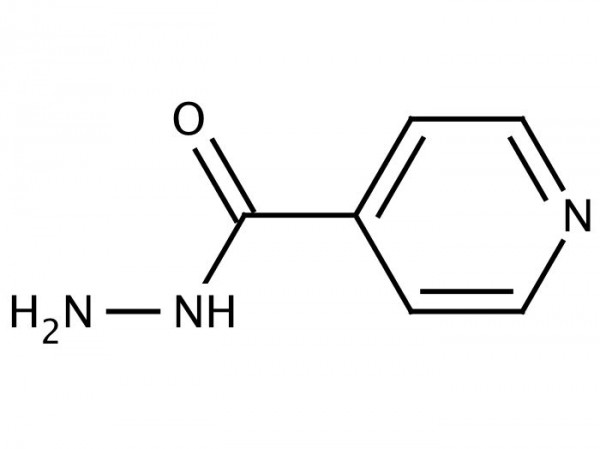 Isoniazid chemical structure