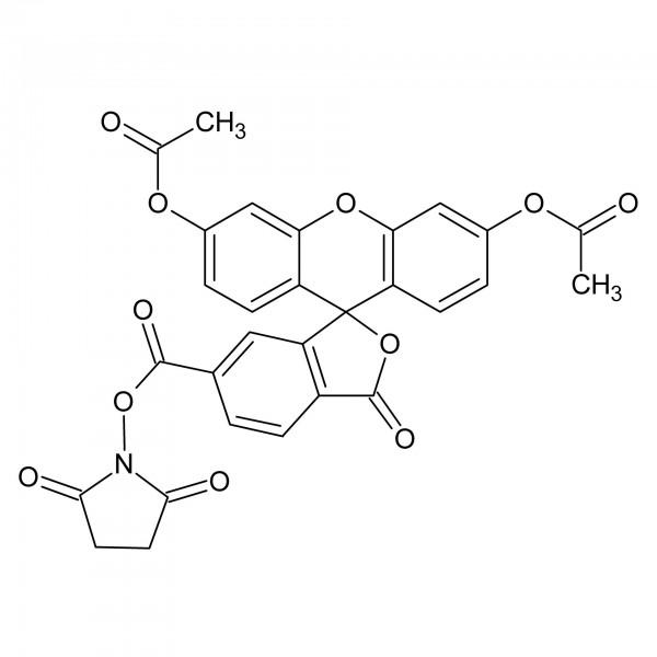 6-Carboxyfluorescein diacetate N-succinimidyl ester / 6-FAM DA SE