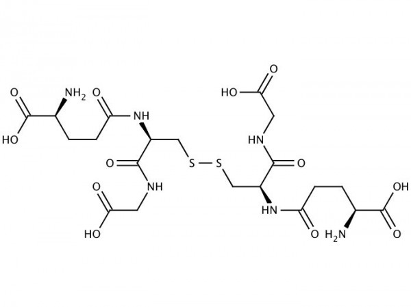 L-Glutathion reduced chemical structure