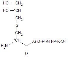 Lipopeptid Dhc-GDPKHPKSF