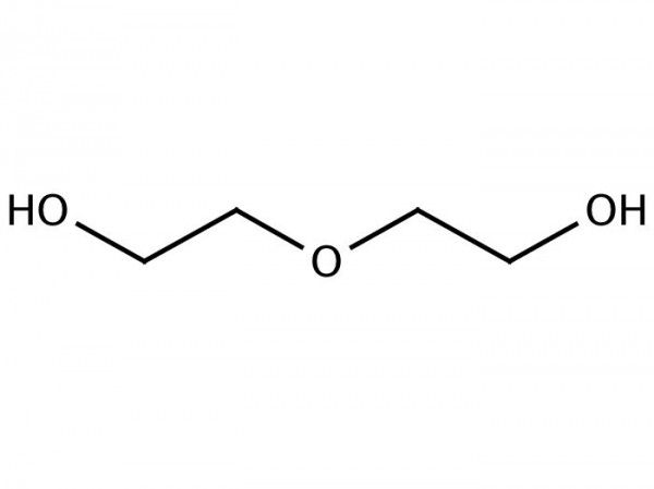 Diethylenglycol chemical structure