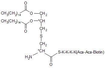 Pam2Cys-SKKKK(Biotin-Aca-Aca)-NH2
