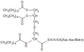 Pam3Cys-SKKKK (Biotin-Aca-Aca)