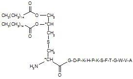 Pam2Cys-SKKKK-Flag peptide