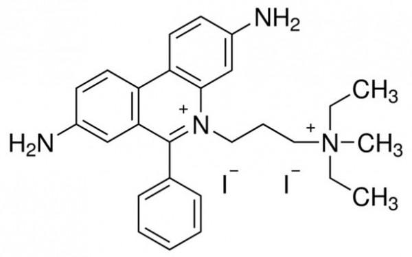 Propidium iodide chemical structure