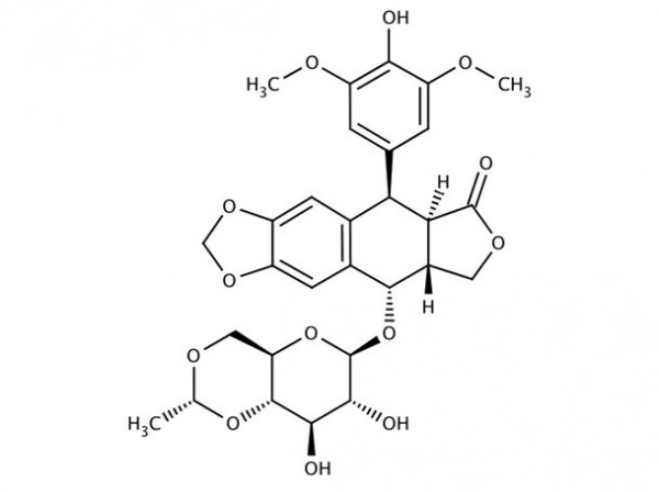 Etoposid - chemical structure