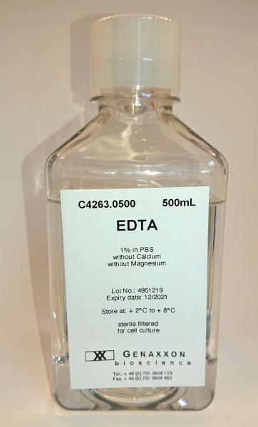 EDTA (Versene), 1%, in PBS, ohne Ca2+ und Mg2+