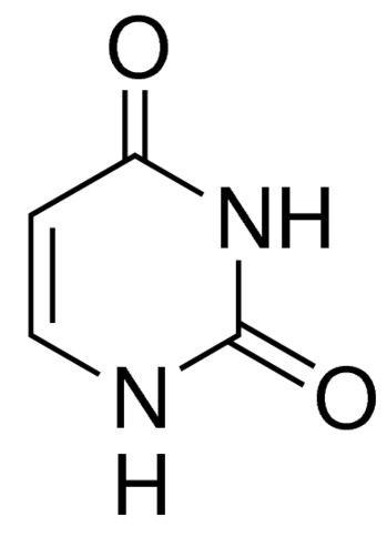 Uracil, 2,4(1H,3H)-Pyrimidinedione, 2,4-Dihydroxypyrimidine, 2,4-Pyrimidinediol