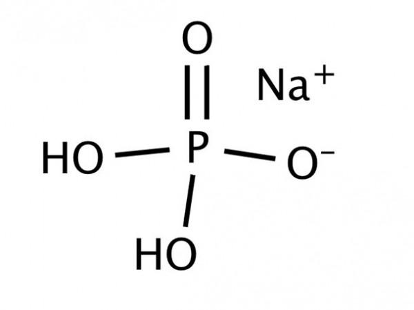 Monosodium dihydrogen orthophosphate