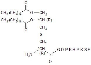 MALP-2-DI (Pam2Cys-GNNDESNISFKEKDI) Peptide