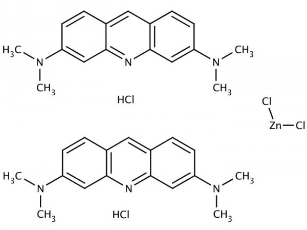 Acridine orange chemical structure