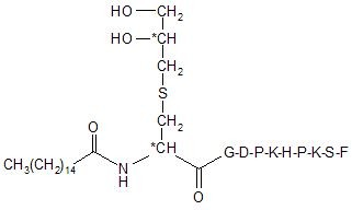 Lipopeptid Pam-Dhc-GDPKHPKSF