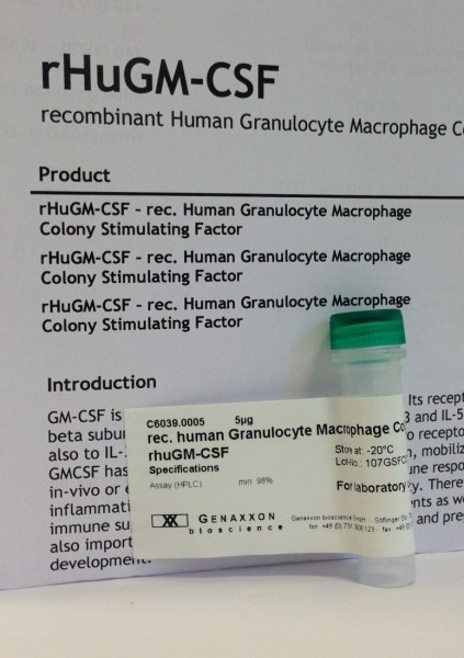 granulocyte macrophage colony stimulating factor - GM-CSF