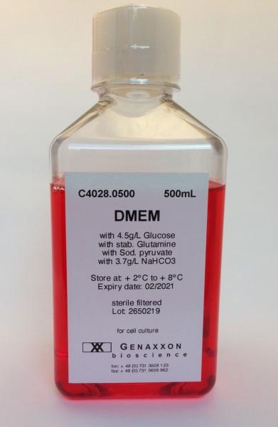 DMEM medium with stable glutamine