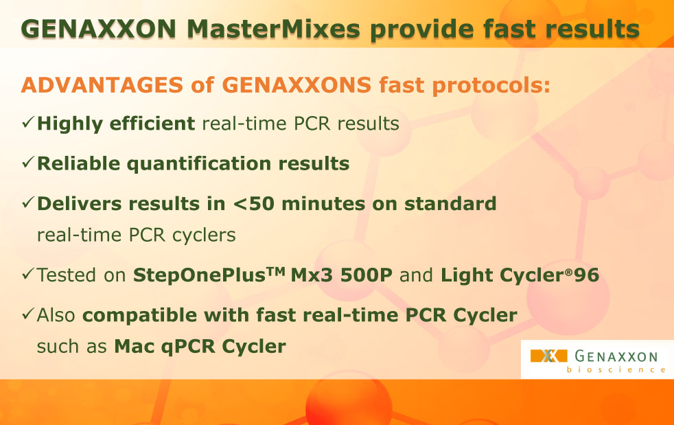 genaxxon-mastermixes-fast-results are important