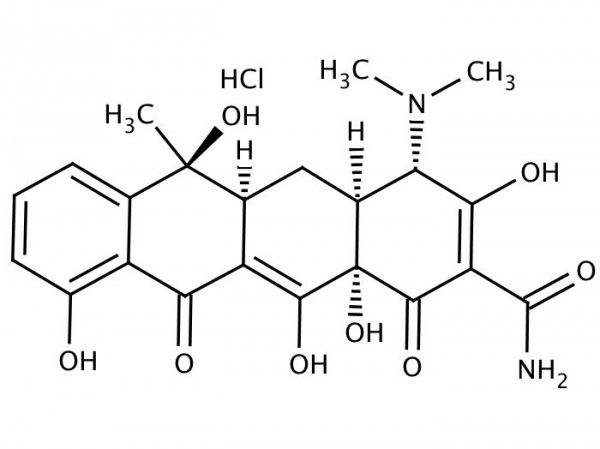 Tetracycline - chemical structure