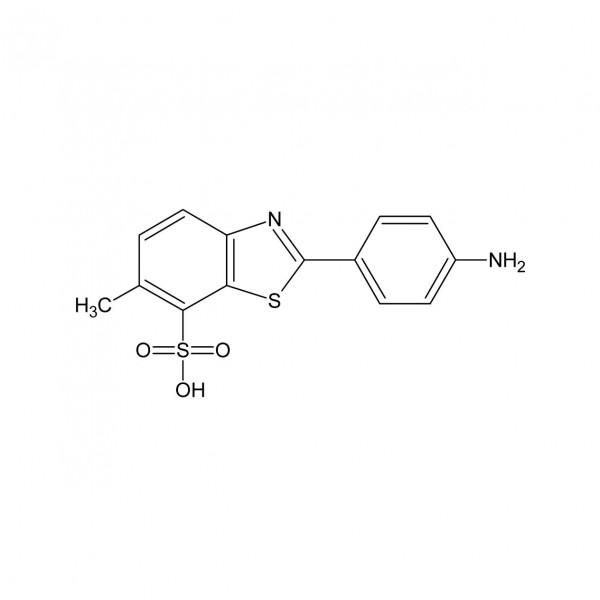 2-(4-Aminophenyl)-6-methylbenzothiazole-7-sulfonic acid