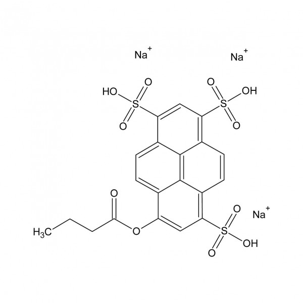 8-Butyryloxypyren-1,3,6-trisulfonic acid trisodium salt