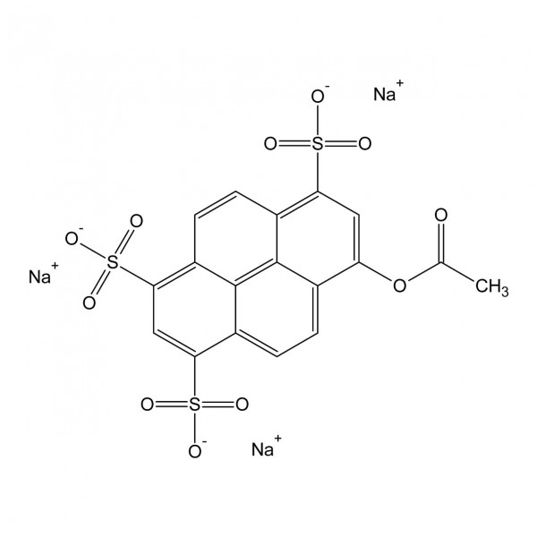 8-Acetoxypyren-1,3,6-trisulfonsäure Trinatriumsalz